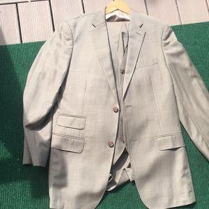 Ralph Lauren 3 piece suit 40 34x32